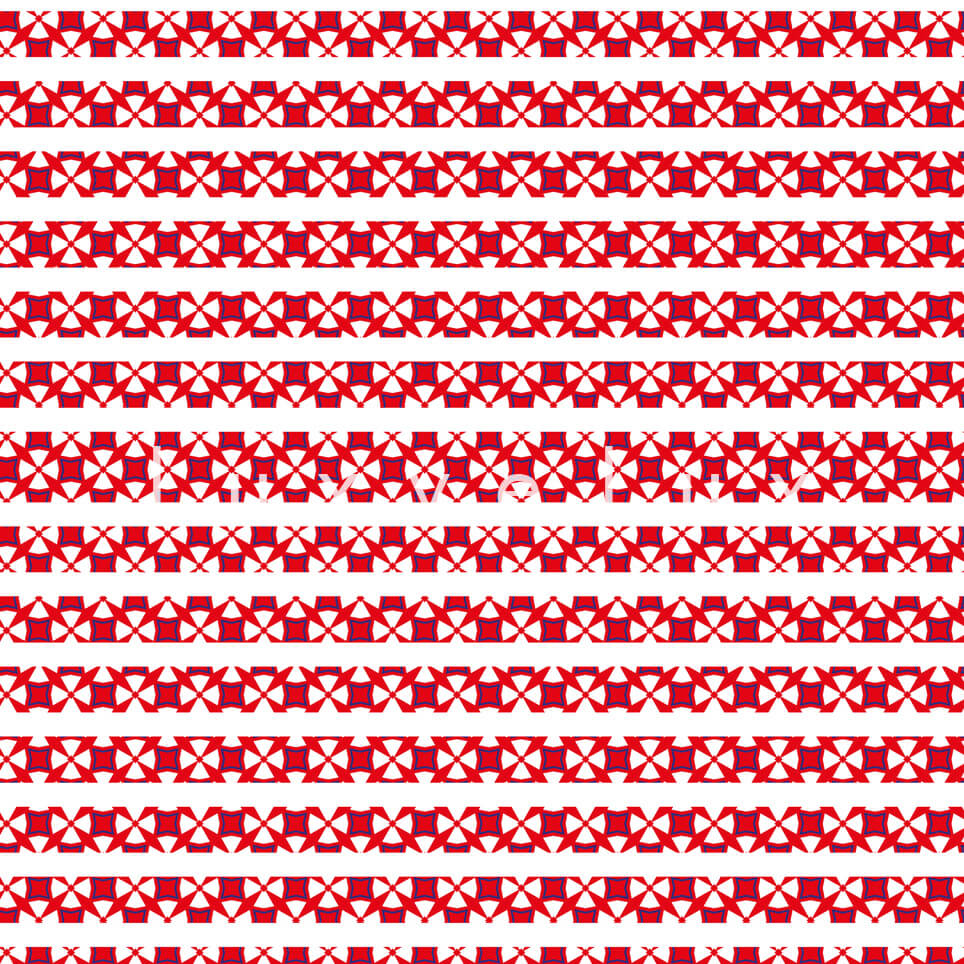 Checkered Geometric Flat Scratched Red Nessa