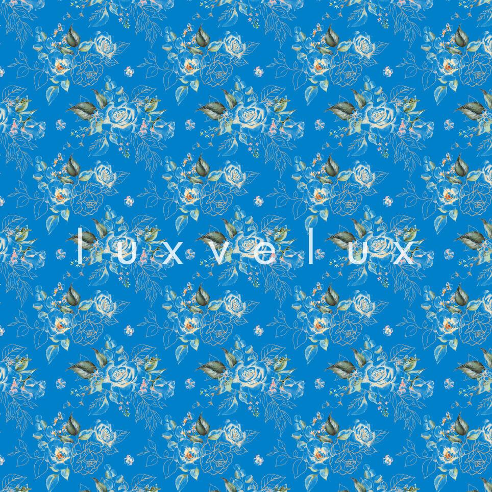 Dark Hyacinth Flowers Blue Hallie