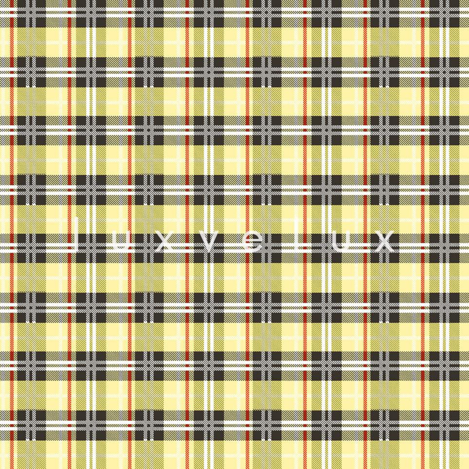 Geometric Pajamas Squares Yellow Lara