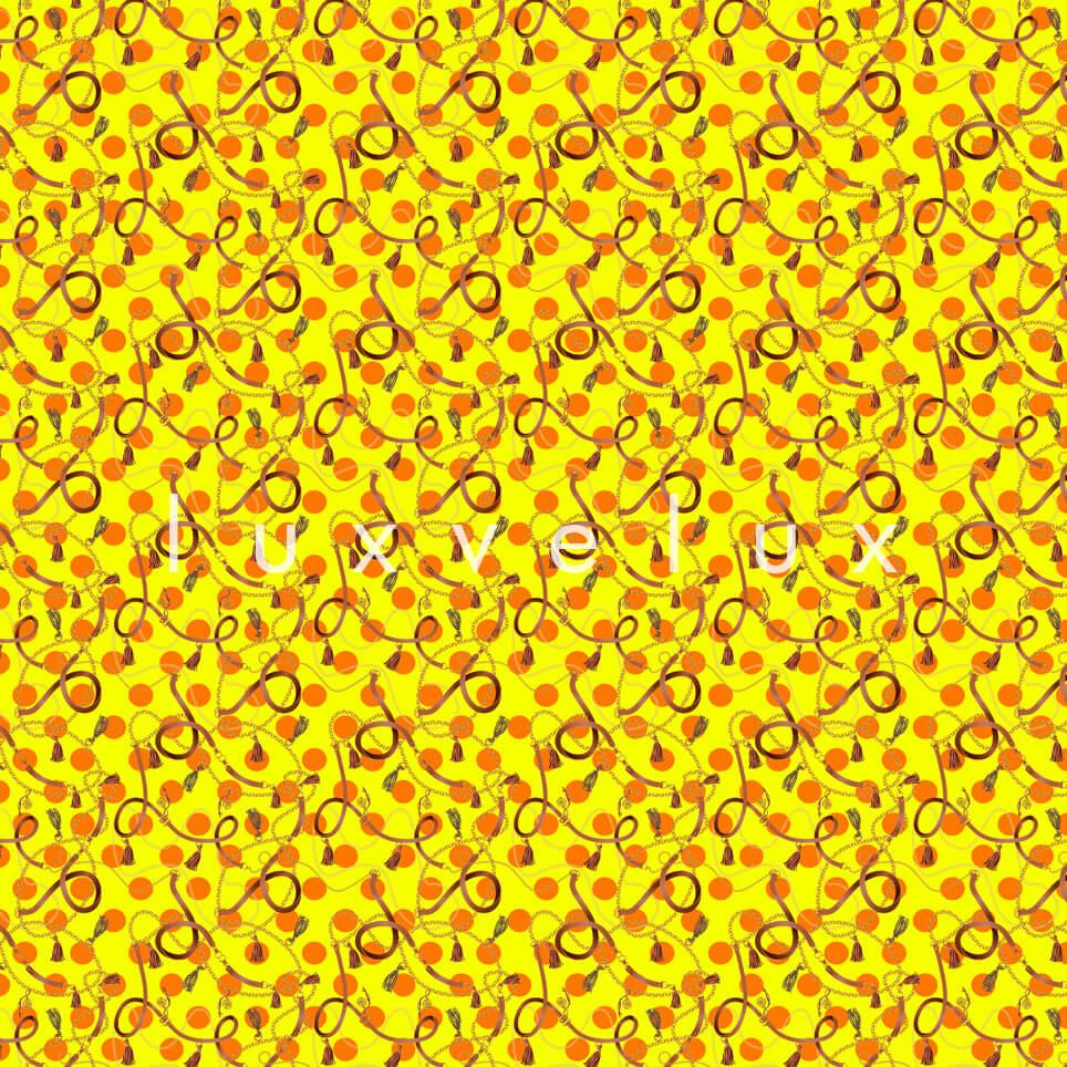 Romantic Spiral Line Yellow Mackenzie