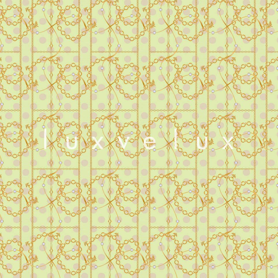 Scratched Chain Pattern Powder Madonna